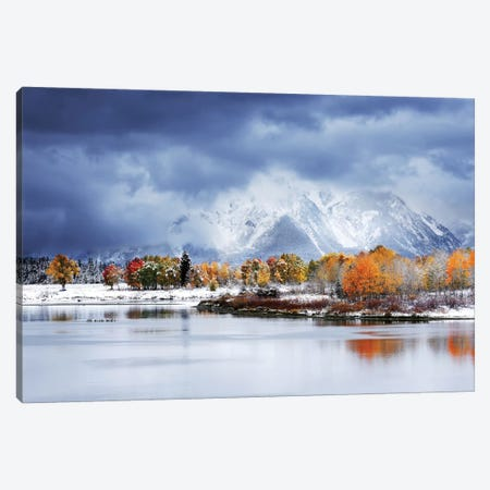 Grand Teton National Park Canvas Print #OXM5448} by Uu Art Print