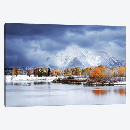 Grand Teton National Park Canvas Print #OXM5448} by Uu Art Print