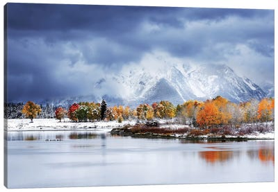 Grand Teton National Park Canvas Art Print
