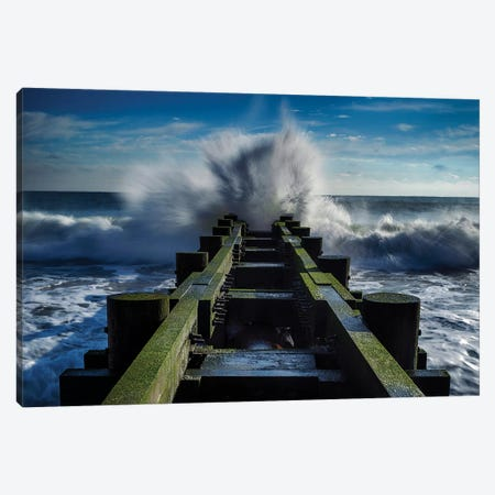 Crashed & Smashed Canvas Print #OXM5453} by verdon Canvas Wall Art