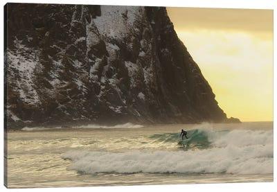 Only The Ocean Canvas Art Print