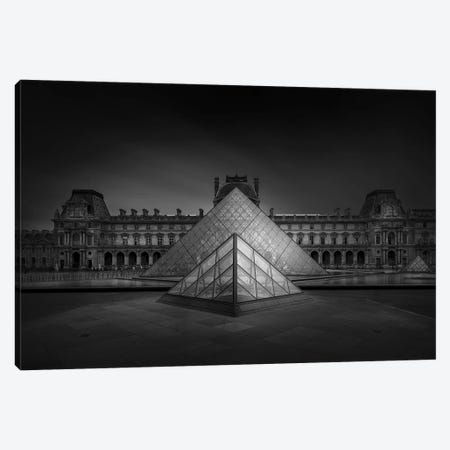 Louvre Canvas Print #OXM5460} by Wael Onsy Art Print