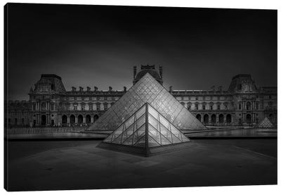 Louvre Canvas Art Print