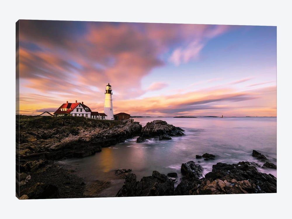 Coastline Sunset by Wei Dai 1-piece Canvas Art