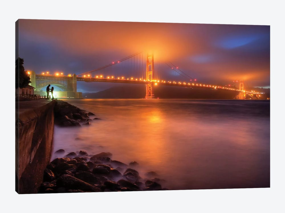 The Place Where Romance Starts by William Lee 1-piece Art Print