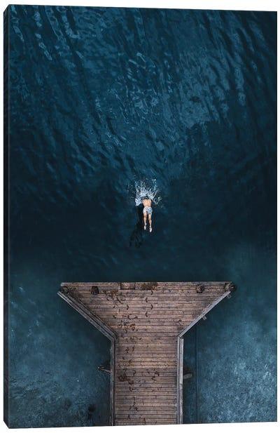 Jump Canvas Art Print
