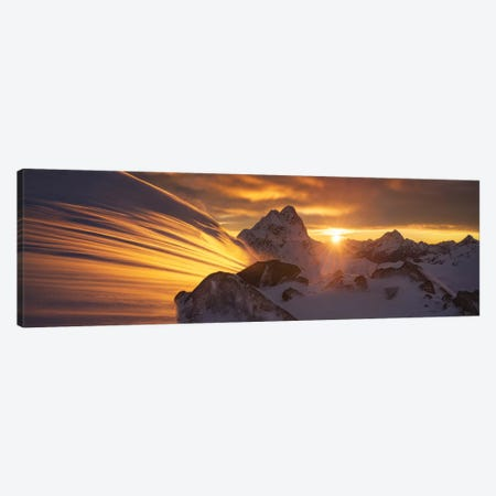 Glacier Light Canvas Print #OXM5478} by Yan Zhang Canvas Artwork