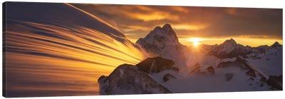 Glacier Light Canvas Art Print