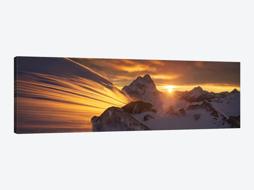 Glacier Light by Yan Zhang 1-piece Canvas Print