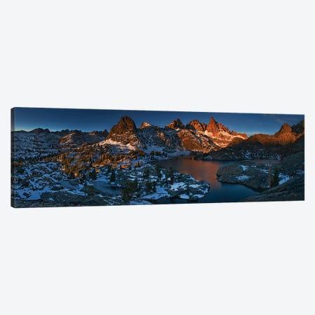 Minaret Lake: First Light Canvas Print #OXM5479} by Yan Zhang Canvas Art