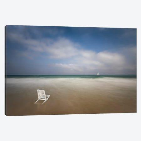 Sail Away Canvas Print #OXM5520} by Azriel Yakubovitch Canvas Art