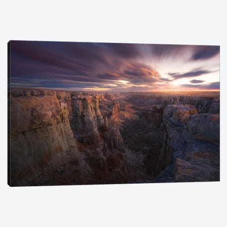 Above And Beyond Canvas Print #OXM5526} by Chris Moore Canvas Art Print