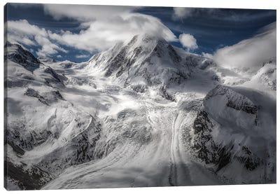 Glacial Canvas Art Print