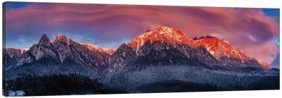 Bucegi Mountains Canvas Art Print