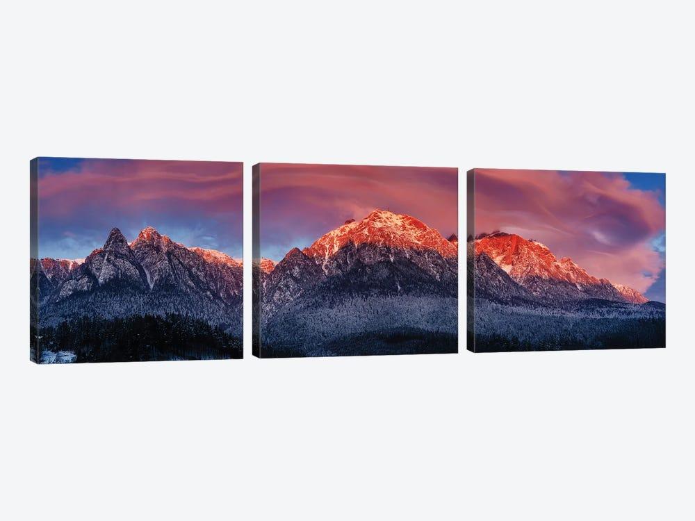 Bucegi Mountains by Cristian Lee 3-piece Canvas Wall Art