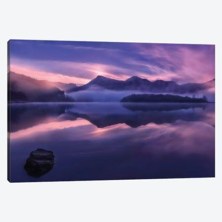 Dawn In Urkulu Canvas Print #OXM5565} by Fran Osuna Art Print