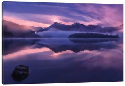 Dawn In Urkulu Canvas Art Print