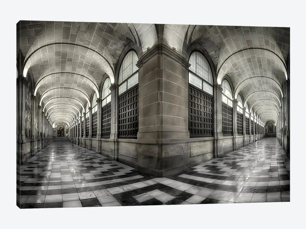 The Corridors Of The Escorial by Fran Osuna 1-piece Canvas Wall Art