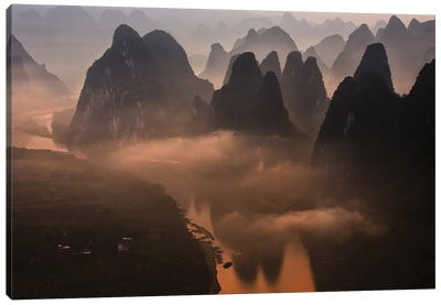 Hills Of The Gods Canvas Art Print