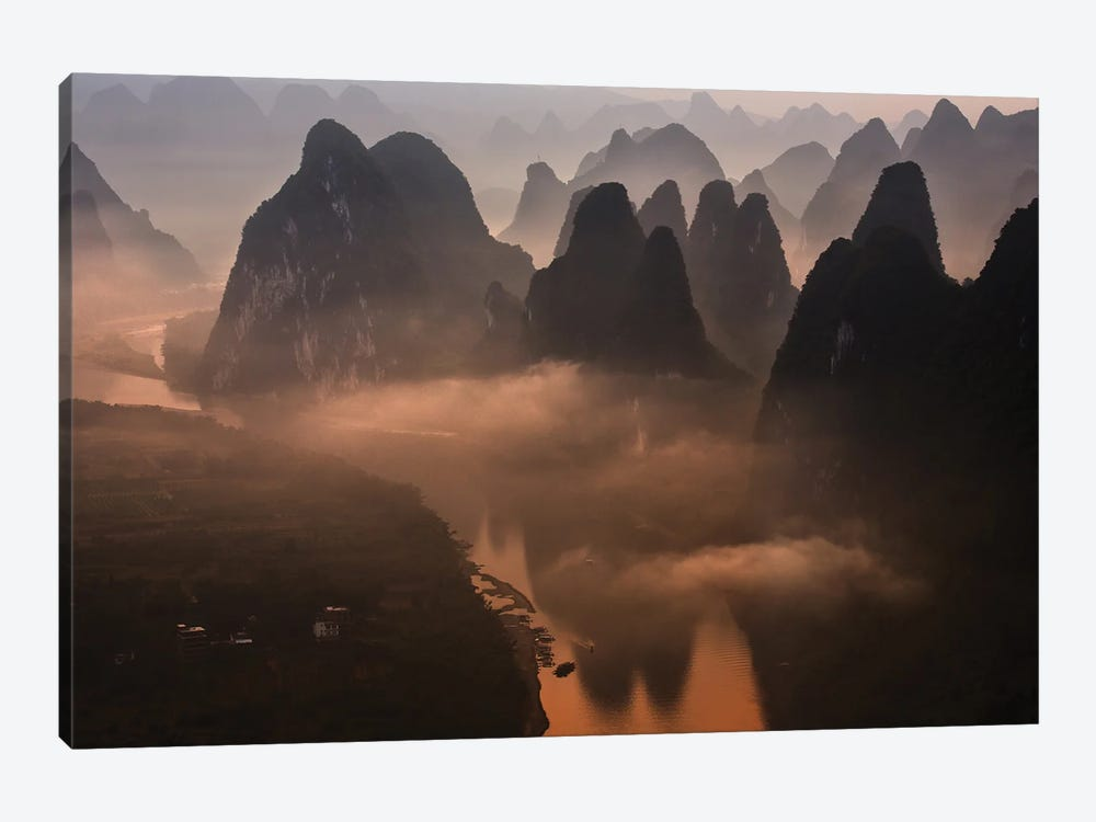 Hills Of The Gods by Gunarto Song 1-piece Canvas Artwork