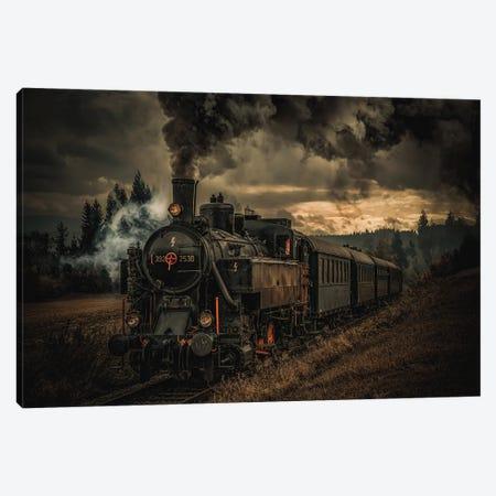 Gold Digger Train Canvas Print #OXM5581} by Hubert Bichler Canvas Wall Art