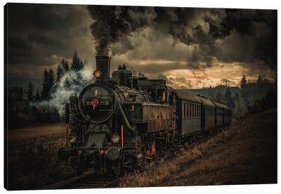 Gold Digger Train Canvas Art Print