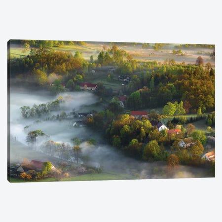 Very Early Spring Canvas Print #OXM5584} by Izabela Laszewska-Mitrega/Darek Mitrega Art Print