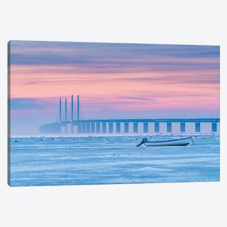 Frozen Sea Canvas Print #OXM5585} by Jacek Oleksinski Art Print