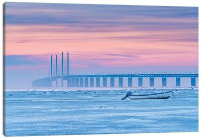 Frozen Sea Canvas Art Print