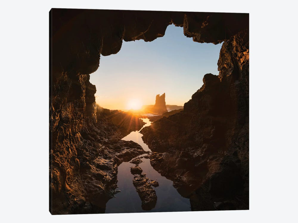 Rock And Cave by Jingshu Zhu 1-piece Canvas Artwork