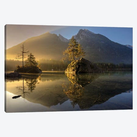 Golden Morning Canvas Print #OXM5598} by keller Canvas Print