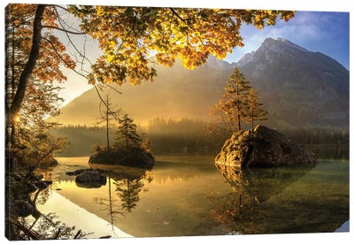 Lake Hintersee Canvas Art Print
