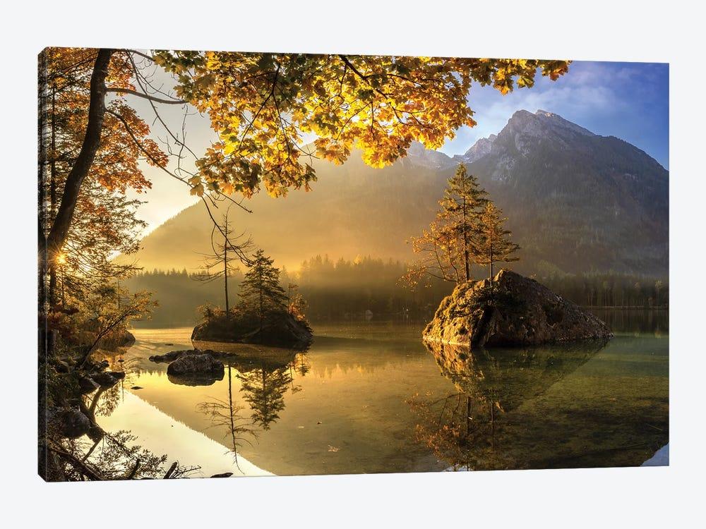 Lake Hintersee by keller 1-piece Canvas Print