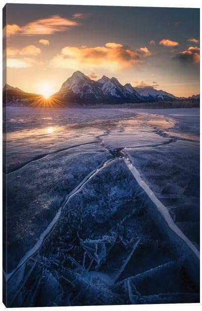 Winterscape Canvas Art Print