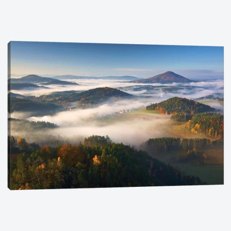 Autumn Fairytale Canvas Print #OXM5624} by Martin Rak Canvas Artwork