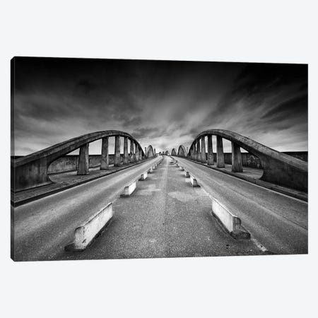 The Bridge Canvas Print #OXM5628} by Maurits De Groen Canvas Art Print