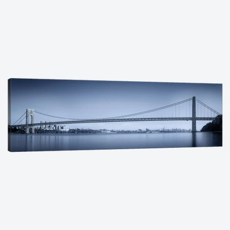 George Washington Bridge Canvas Print #OXM5630} by Menghuailin Canvas Artwork