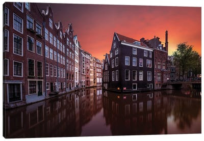 Amsterdam Dawn Canvas Art Print