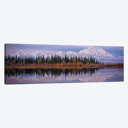 Denali Reflection Canvas Print #OXM5632} by Michael Zheng Canvas Art