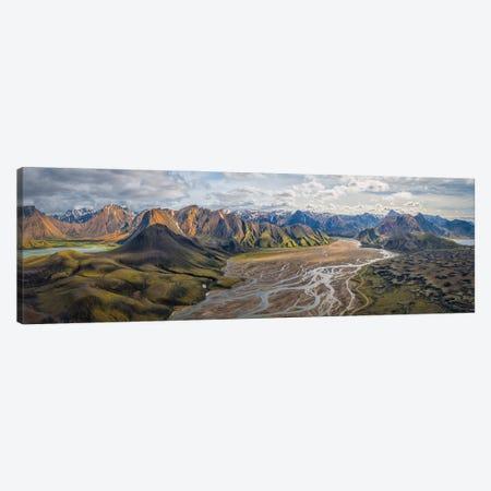 Iceland: Fjallabaksleianyrari Canvas Print #OXM5633} by Michael Zheng Canvas Art