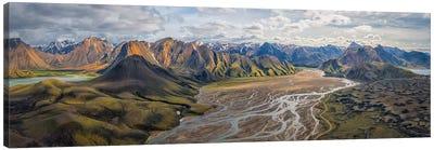 Iceland: Fjallabaksleianyrari Canvas Art Print