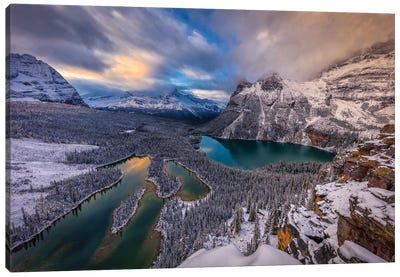 Lake Ohara Canvas Art Print