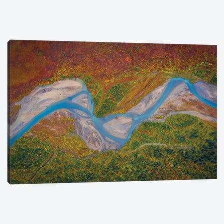 Matanuska River Canvas Print #OXM5636} by Michael Zheng Art Print