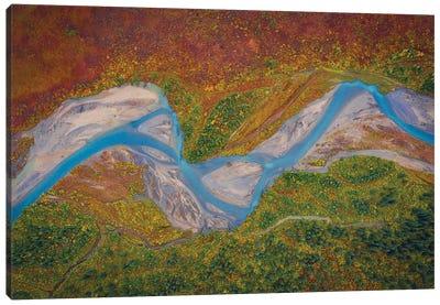 Matanuska River Canvas Art Print