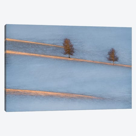 Light Traces 3-Piece Canvas #OXM5656} by Petar Sabol Canvas Art Print