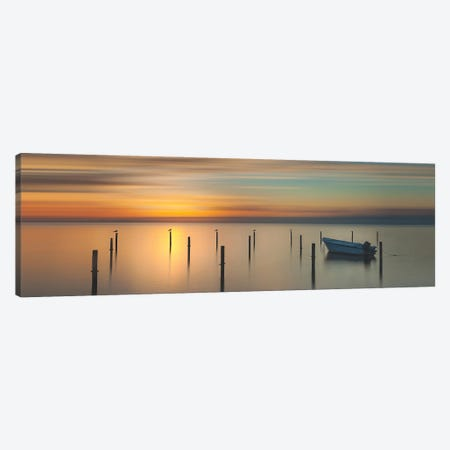 Sleep Time During Sunset Canvas Print #OXM5662} by Piet Haaksma Art Print