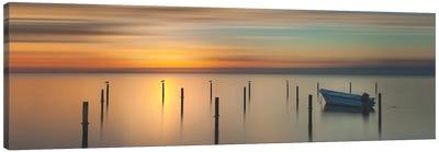 Sleep Time During Sunset Canvas Art Print
