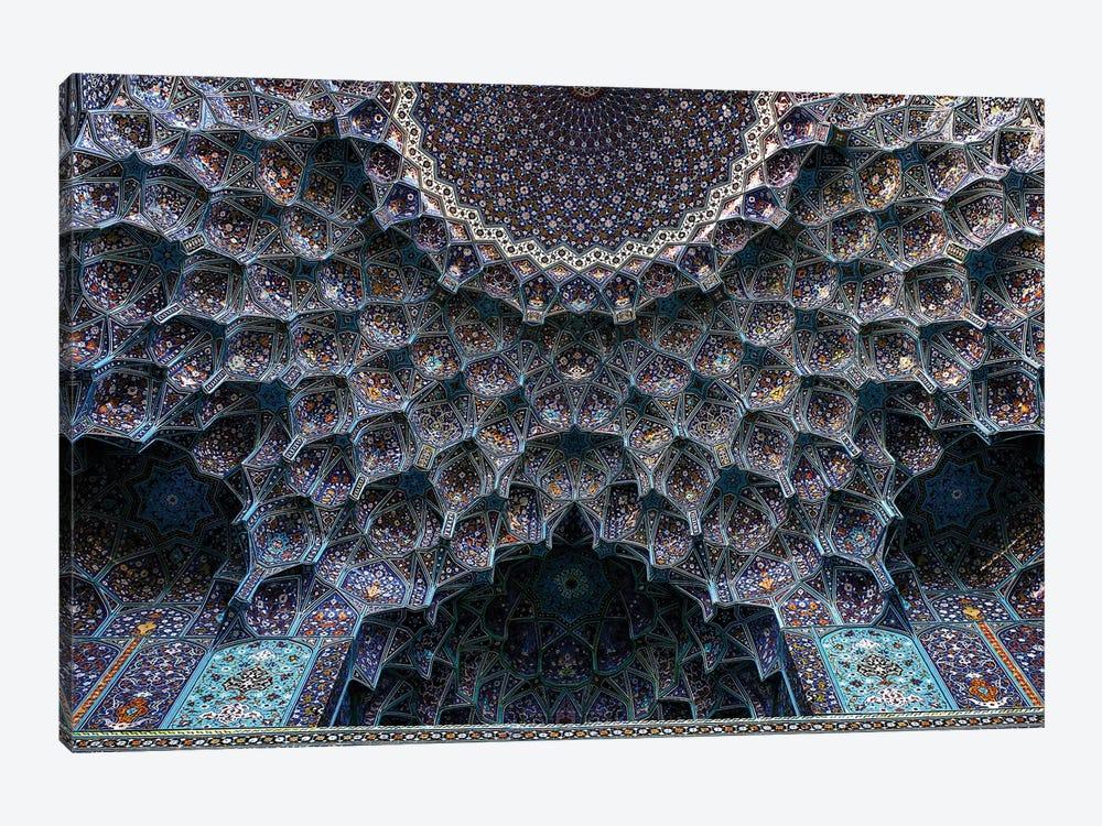 Shah Abbasi Mosque 1611-1629 by Poorya Rafiezade 1-piece Canvas Art Print
