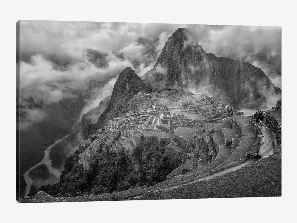 Fog In The Machu Picchu by Richard Huang 1-piece Canvas Art Print