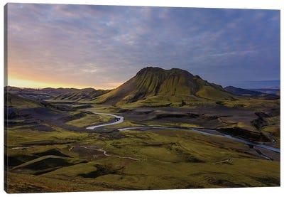 Iceland Highlands Canvas Art Print